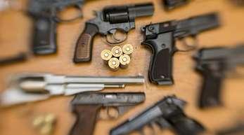 In Deutschland ist die Zahl der als verschwunden gemeldeten Waffen stark gestiegen.