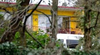 Blick auf das Wohnhaus des ermordeten Unternehmer-Ehepaares in Wuppertal.