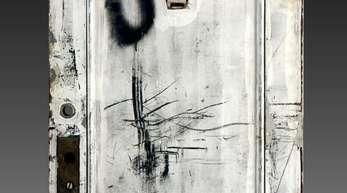 Die Tür gehörte zu dem Zimmer, in dem Janis Joplin wohnte.