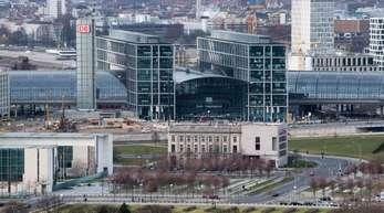 Die Fliegerbombe wurde in der Nähe des Berliner Hauptbahnhofes entdeckt.