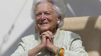 Barbara Bush starb im Alter von 92 Jahren, wie das Büro der Familie mitteilt.