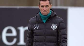Steht bald wohl bei der Bayern-Jugend auf dem Platz: Weltmeister Miroslav Klose.