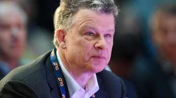 Hubert-Burda-Media-Chef Paul-Bernhard Kallen auf einer Konferenz in München.