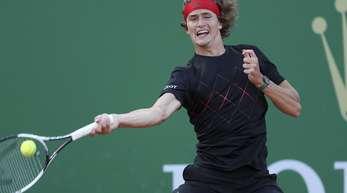 Mühte sich in Monte Carlo zum Sieg gegen Jan-Lennard Struff: Alexander Zverev.
