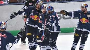 Die Münchner wollen den dritten Sieg im DEL-Finale.