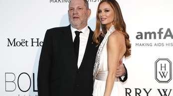 Ein Bild aus besseren Tagen:Harvey Weinstein und seine Noch-Gattin Georgina Chapman.