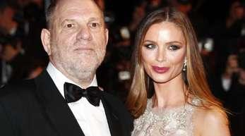 Harvey Weinstein und seine Frau Georgina Chapman 2016 bei den Filmfestspielen in Cannes.