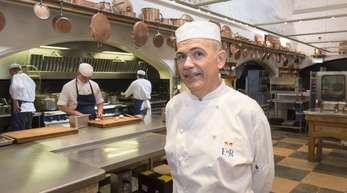 Mark Flanagan, Chefkoch des britischen Königshauses, in der Küche von Schloss Windsor.