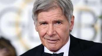Harrison Ford bei der Verleihung der Golden Globes in Beverly Hills 2015.