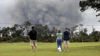 Seit Wochen gibt die Erde auf der zu den USA gehörenden Inselgruppe Hawaii keine Ruhe.