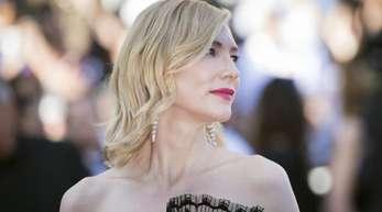 Jury-Präsidentin Cate Blanchett setzt sich in Cannes auch für Gleichberechtigung ein.