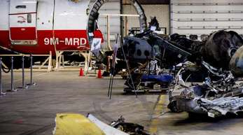 Die MH17-Trümmer wurden in den Niederlanden untersucht.