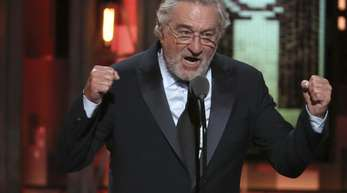Robert De Niro bei den 72. Tony Awards in der Radio City Music Hall in New York.