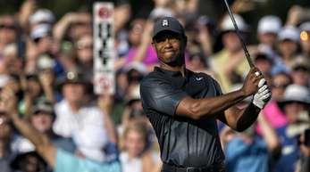 Superstar der 118. US Open: Tiger Woods.