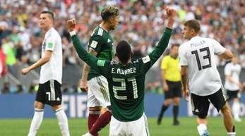 Die Mexikaner besiegten die DFB-Elf zum WM-Auftakt mit 1:0.