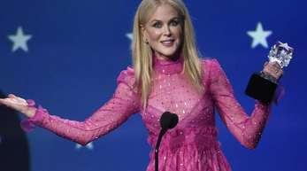 Nicole Kidman kann sich über ein lautes «Happy Birthday» freuen.