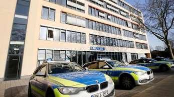 Polizeiwache in Gelsenkirchen Süd: Der letzte noch gesuchte Verdächtige hat sich hier den Behörden gestellt.