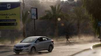 Rauch über Gaza: Israels Luftwaffe flog jüngst Angriffe auf Dutzende Hamas-Ziele. Damit reagierte Israel auf Attacken militanter Palästinenser auf sein Grenzgebiet.