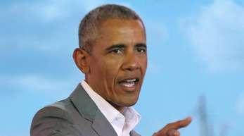Hält heute in Südafrika eine Rede zu Ehren Nelson Mandelas: der frühere US-Präsident Barack Obama.