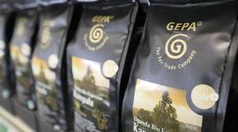 Kaffee der der Gepa (Gesellschaft zur Förderung der Partnerschaft mit der Dritten Welt). Bisher ist fair gehandelter Kaffee eine Nische.