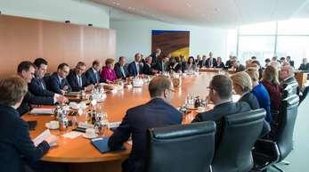 Sitzung des Bundeskabinetts im Bundeskanzleramt (Archivbild).