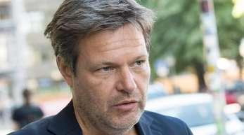 Robert Habeck, Bundesvorsitzender von Bündnis 90/Die Grünen, will Besitzer von Brachflächen zum Bauen verpflichten.