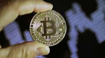 Kehrtwende:Seit Anfang Mai hatte der Bitcoin kontinuierlich an Wert verloren.