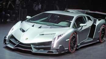 Der Lamborghini Veneno gehört zu den vom Rückruf betroffenenen Sportswagen.