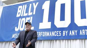 Billy Joel hat sein 100. Konzert im Madison Square Garden gespielt.