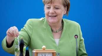 Hat nach ihrem Urlaub ein umfangreiches Programm vor sich: Bundeskanzlerin Angela Merkel.