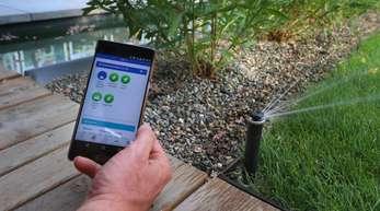 Was alles möglich ist: mit einer App die Bewässerung des Gartens steuern.