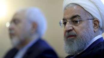 Der iranische Präsident Hassan Ruhani hat im Konflikt mit den USA den Ton verschärft.