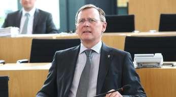 Fordert mehr Offenheit zwischen Linke und CDU: Thüringens linker Ministerpräsident Bodo Ramelow.