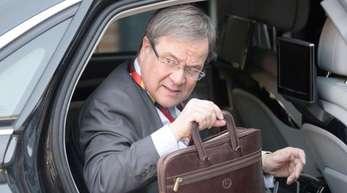 Reichlich klimaschädlich unterwegs: Armin Laschet (CDU), Ministerpräsident von Nordrhein-Westfalen.
