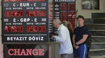 Die türkische Währung erholte sich in den vergangenen Tagen leicht.