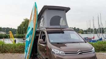 So kann Urlaub auch Spaß machen: Reisemobile werden in Deutschland immer beliebter.