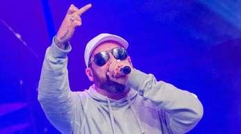 Rapper Sido bei der Verleihung der 1Live Krone 2017 in Bochum.