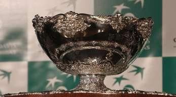 Objekt der Tennis-Begierde: Der Davis Cup.