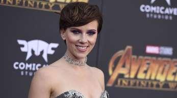 Scarlett Johansson bei der Weltpremiere von «Avengers: Infinity War» in Los Angeles.