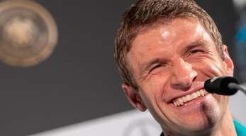 Freut sich auf das erste Länderspiel nach dem WM-Debakel: Thomas Müller.