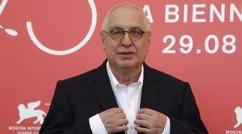 Errol Morris, Regisseur und Oscarpreisträger aus den USA, stellte seine Doku «American Dharma» in Venedig vor.