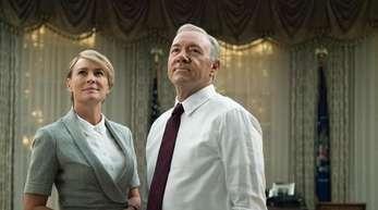 Claire Underwood (Robin Wright)weint ihrem Mann (Kevin Spacey) in der finalen Staffel keine Träne nach.