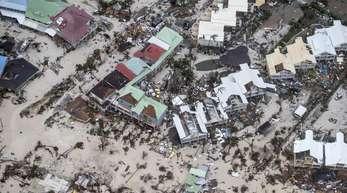 Verwüstungen durch Hurrikan «Irma» auf der niederländischen Antilleninsel im Jahr 2017.