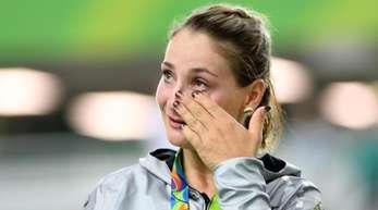 Ist nach einem Trainungsunfall querschnittsgelähmt: Bahnrad-Sportlerin Kristina Vogel.