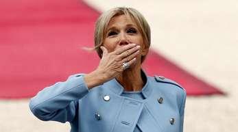Die Crew von «Vestiaires» war von Brigitte Macron begeistert.