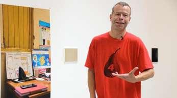 Wolfgang Tillmans in der Galerie David Zwirner.