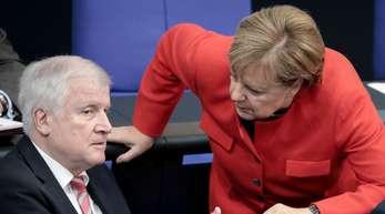 Am Dienstag kommen Horst Seehofer, Angela Merkel und Andrea Nahles im Kanzleramt zusammen.
