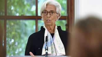 IWF-Chefin Christine Lagarde warnt: Ein Brexit ohne Abkommen käme einem «sofortigen Einbruch» gleich.