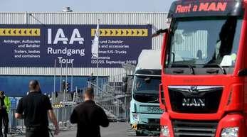 Auf der IAA Nutzfahrzeuge in Hannover werden mehr als 2100 Aussteller aus rund 50 Ländern erwartet.