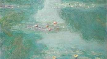 Typisch Monet: «Seerosen» aus dem Jahr 1908.